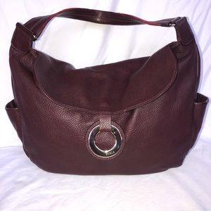 Furla burgundy bag